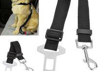 Pet Car Safety Leashe / Adjustable Practical Dog Pet Car Safety Leash Seat Belt Harness Restraint Lead Travel Clip