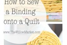 Sewing Tutorials / Tips and techniques for sewing and quilting.