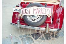 Llegando a la boda / Ideas para que entres con tu propio estilo a tu boda.