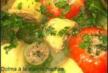 Plat principal / plat principal algérien, orientale ou occidentale