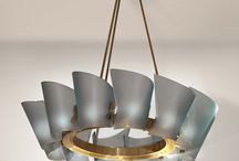 Max Ingrand / Midcentury lighting by the great French designer, who was artistic director for the Italian lighting company FontanaArte from 1954 - 1964