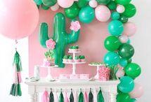 decor corner party