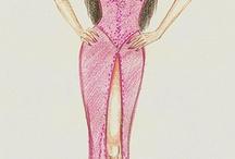 Fashion sketches / by Lauren Dillingham