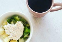 Petit déjeuner / Mes petits déjeuners sains à 80% et gourmands à 20%. Retrouvez mes idées, mes recettes et surtout mes réalisations !