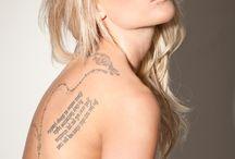Tattoo, tattoo girl, not so ordinary beauty