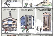 Mimari akimlar / Bina ornekleri
