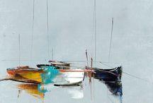 tableaux bord de mer