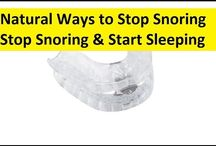 Stop Snoring and Sleep Apnea Naturally / Stop Snoring and Sleep Apnea Naturally