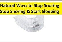 Stop Snoring and Sleep Apnea Naturally / Stop Snoring and Sleep Apnea Naturally