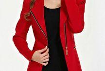 Rachael Red Jacket