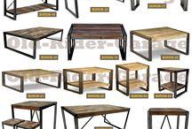 madera y hierro