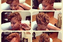 Dreadlocks / Quick hairstyles to try out