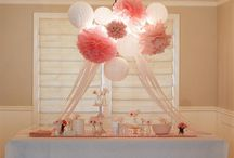 Ideas for friends Baby shower! / Baby girl!