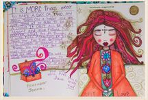 Art Journaling 3 / by Tara Parmer Eastman