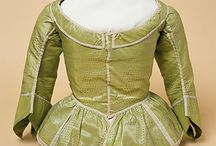 1650' - 1670's jackets and bodices