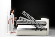 TIRAMISU' / Letti con un magico meccanismo che permette di sollevare il piano del letto con un solo tocco, senza nessuna fatica!