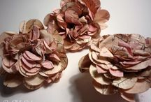 Hand-made flower tutorials