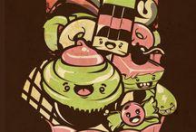 Illustration-chocotoy / by Calima Lima