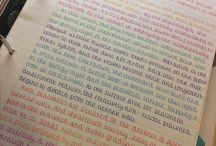Caligrafía y Notebooks
