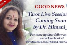 Coming Soon - Tarot Live Session By Dr. himani J / Good News !!!!!  Tarot Live Session is Coming Soon by Dr. Himani Jolly  For more updates follow and like us on Facebook @ www.facebook.com/HimaniJTarotCardReader  #GoodNews #LiveSession #TarotCardReading