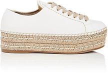 espadrille sneakers / spring - summer kicks