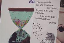 Espejismos / Mi primer libro de poesía romántica y de desamor. Versos llenos de dolor, tristeza y amor. Un poco de mi alma y corazón roto en 200 poemas para compartir contigo un amor no correspondido.   Las cuatro etapas del amor: ilusión, sueño, soledad y penumbra.  http://www.rosee-letters.com/