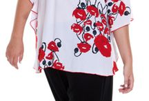 Plus Size Tops Shirts / For Women Only