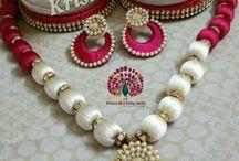silk thread jewels full set