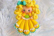 Ornament z glinki polimerowej