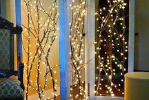 christmas light screen