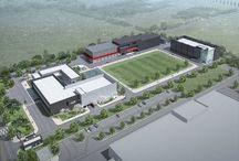 """works: 연구소 프로젝트.. """"SFC Laboratory II"""" 에스에프씨 연구소 II / 오창 과학산업단지 내 외국인 투자단지에 신축하는 SFC 신축 연구소 및 연구실험동, 클린룸동"""
