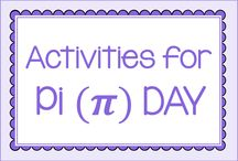 Pi Day / Activities to use on Pi Day