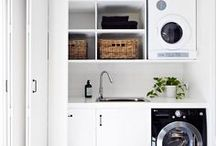 DIY Laundry ideas / How to creat functional laundry rooms for low cost DIY tips and how tops