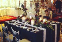 Wedding | Wedding Fayre 2015 - 1950s Hollywood Glamour / #weddings #weddingfair #woodlandshousehotel #1950s #hollywood #glamour #bridal #spa #tabledecor