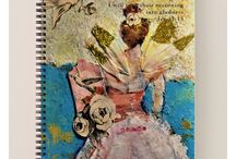 Prayer & Devotional Journals with my art & poetry, available for purchase