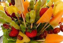 Frutas e decorações de frutas / Frutas