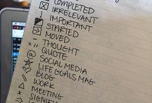 School planner ideas