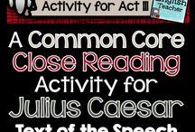 Julius Caesar: Lesson Plans & Ideas