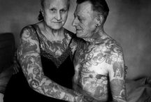 old school tattoos / vintage pictures