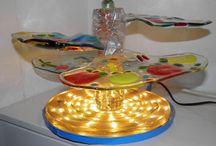 Taco's Glaskunst / Kunstzinnige ontwerpen voor decoratie of gebruiksvoorwerpen in glas. Mooi voor het raam, op tafel of in de tuin.
