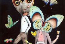 butterfly.. / by Merve Gökçe