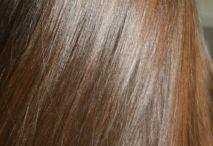 cabelo - vinagre de maçã e bicarbonato de sodio