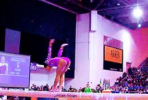 Great tumble on the beam