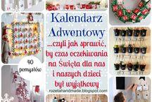 Kalendarz Adwentowy, advent Calendar inspiration