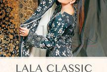 Black & White / Lala Classic Cotton Print Midsummer Vol 1.  #midsummer #LALA #cotton #style #Style30 #fashion #Pakistan
