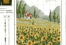Crossstitch Scene