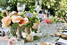 Elisabeth and Torer 5 July 2014 / Wedding in Tuscany Venue: Borgo di Stomennano Planning: Sposiamovi Floral Design: La Rosa Canina Make-up: Lara Navarrini  / by La Rosa Canina FIRENZE