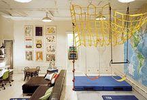 indoor playground (basement)