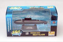 Моя коллекция подводных лодок.