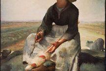 Jean-Francois Millet / French artist (1814-1875)